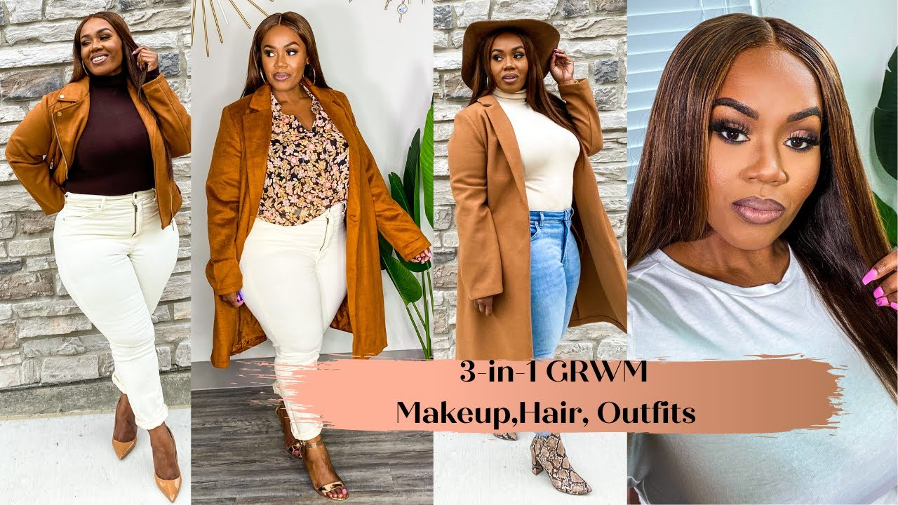 3 In 1 Grwm Makeup Hair And Outfit Ideas Youtube More ideas from ratti chauhan. youtube