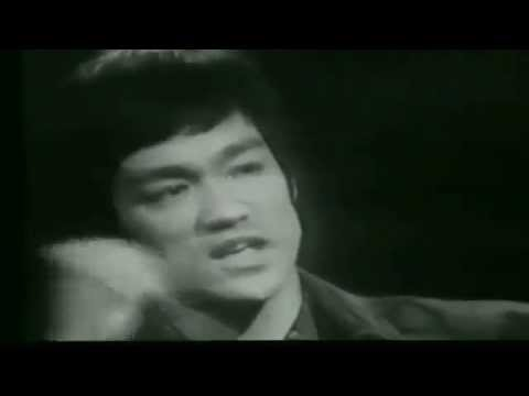 Bruce Lee on the paradox between self-improvement and self-acceptance