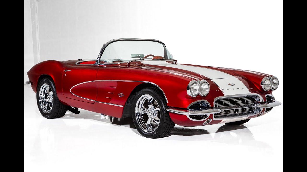 1961 CHEVROLET CORVETTE STREET RACER 355CI