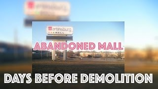 MARTINSBURG MALL : ABANDONED & SILENT