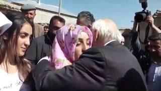 Van AK Parti İlçe Başkan Yardımcısı Aydın Muştu'nun ailesine taziye ziyareti