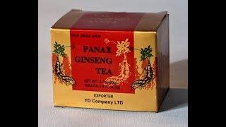 Чай женьшеня PANAX 10 х 2 г Корейский женьшеневый чай в гранулах