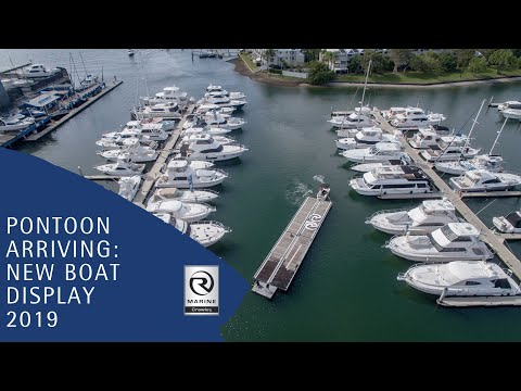 Champagne & Oyster Night 2018: The Pontoon Arrives