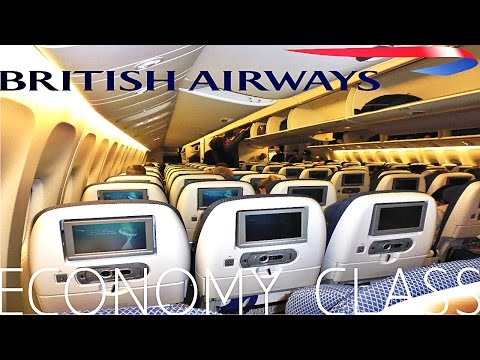 British Airways ECONOMY CLASS London to Singapore|Boeing 777-300ER