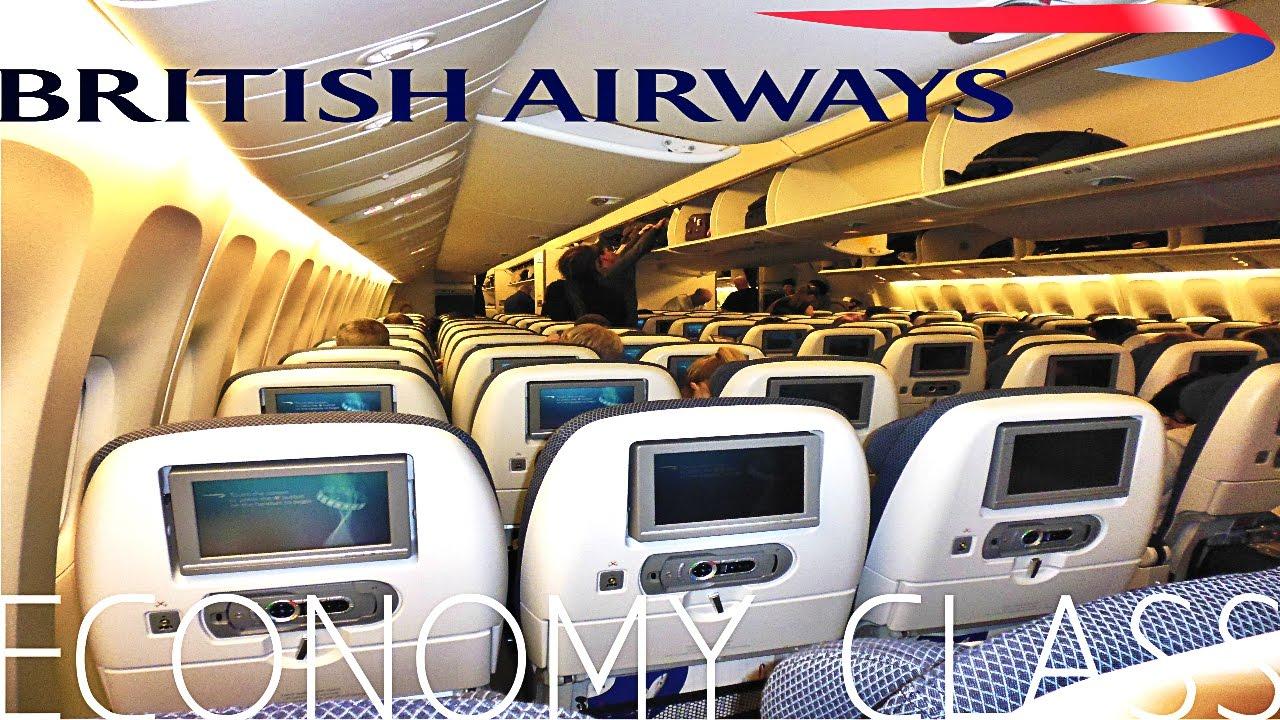 British Airways Economy Class London To Singapore Boeing