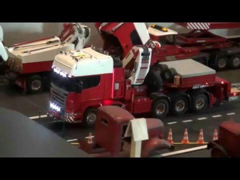 RC EXTREME! Heavy load RC Truck, incredible long! British energy ministery
