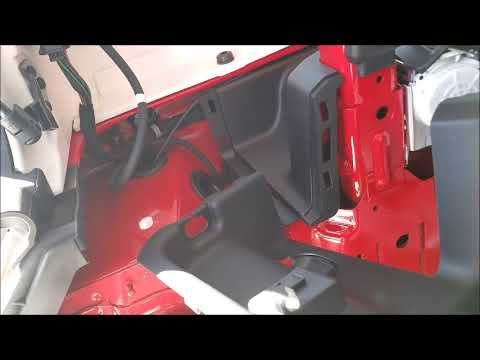 2018 jeep wrangler jl trailer wiring  how to install a 4pin connection  for towing