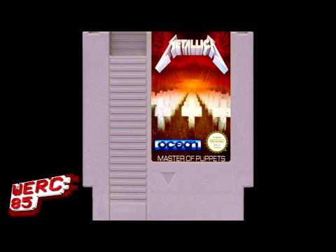 Metallica - Master of Puppets 8-bit (werc85)