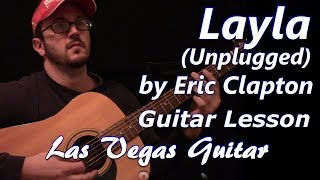 Layla (Unplugged) by Eric Clapton Guitar Lesson