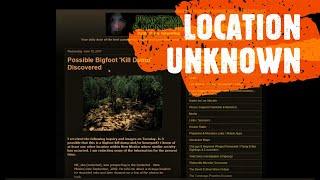 Possible Bigfoot Boneyard in New Mexico (ThinkerThunker)