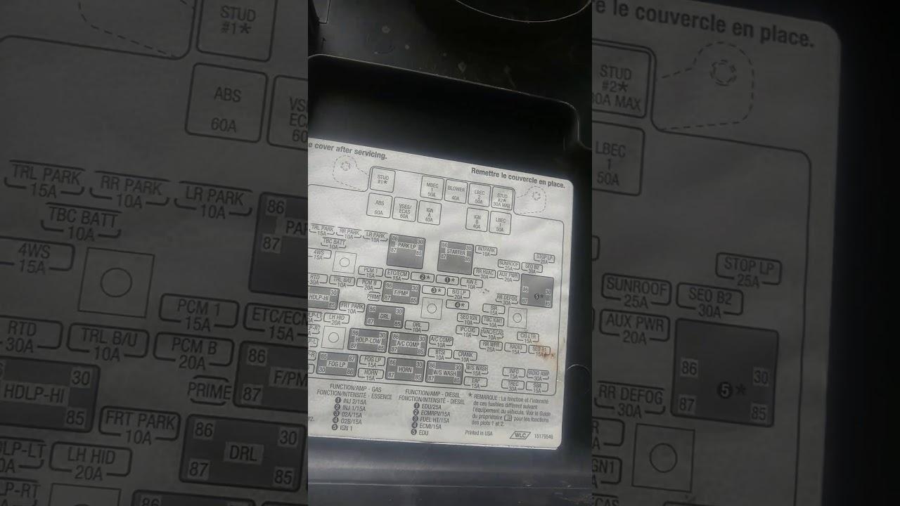 2005 chevy avalanche cigarette lighter fix [ 1280 x 720 Pixel ]