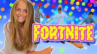 Fortnite Dances! | Colored Ball Challenge | FunPop!