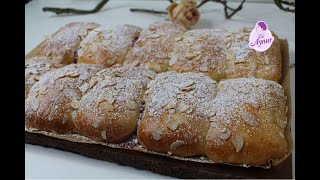Marmelat dolguli cörek tarifi I Hefegebäck mit Marmeladafüllung