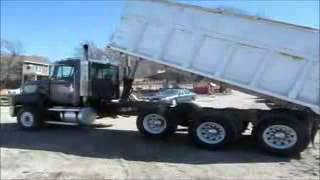 1996 Mack CL713 tri axle dump truck for sale | sold at auction April 10, 2014