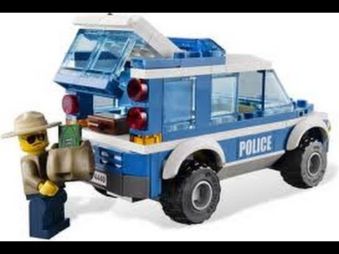 LEGO 2012 City Forest Police Station Review LEGO 4440 - YouTube