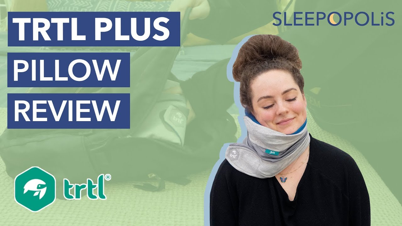 trtl pillow plus review is it the best travel pillow