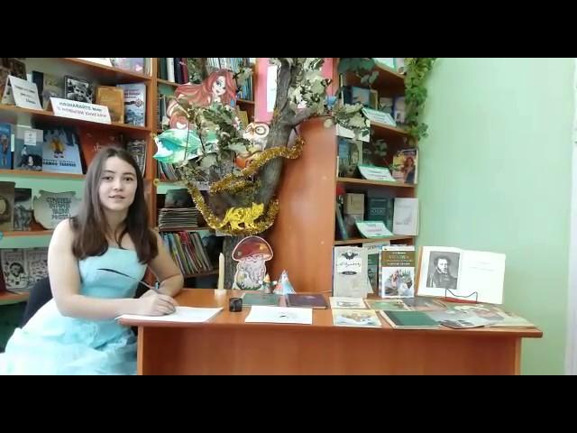 Изображение предпросмотра прочтения – КсенияСипатрова читает отрывок изпроизведения «Евгений Онегин» А.С.Пушкина