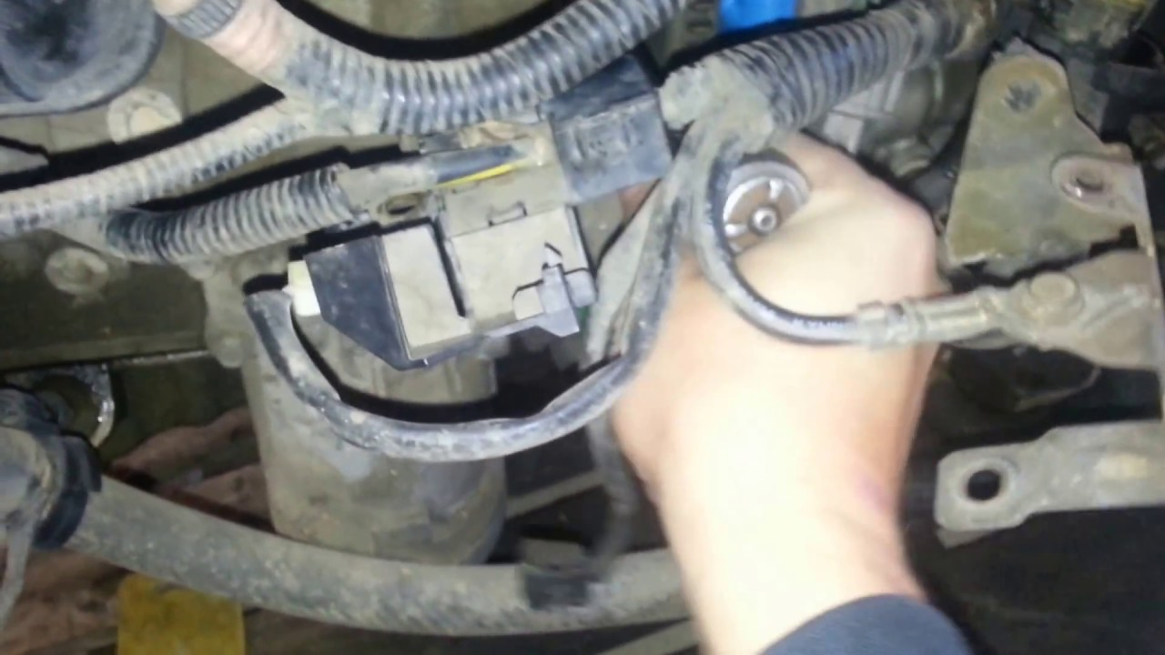 how to remove replace 2004 2009 mazda 3 2 3l starter  [ 1280 x 720 Pixel ]