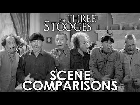 The Three Stooges (2000) and the Three Stooges - scene comparisons