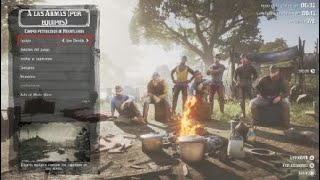 Red Dead Redemption 2 battle royale arco y flecha! PS4PRO
