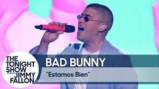 Bad Bunny Estamos Bien TV Debut