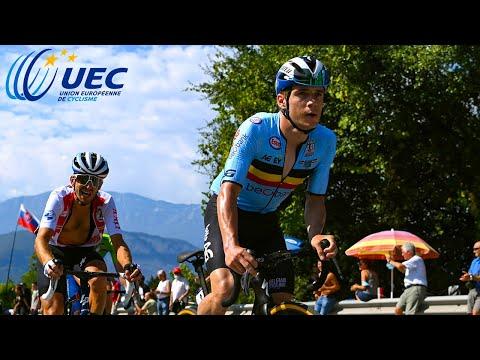 2021 European Championships Men's Road Race Highlights