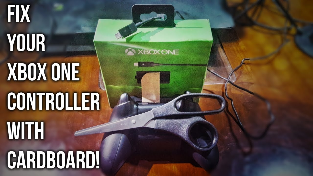 Fix Your Xbox One Controller Not Charging with Cardboard [X-TUTORIAL]