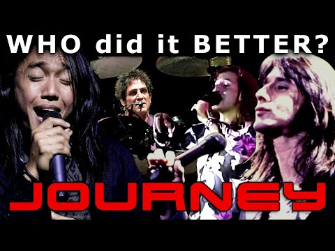 JOURNEY Replacement Singers – Who Did It Better? Steve Perry – A. Pineda – S. Augeri – D. Castronovo