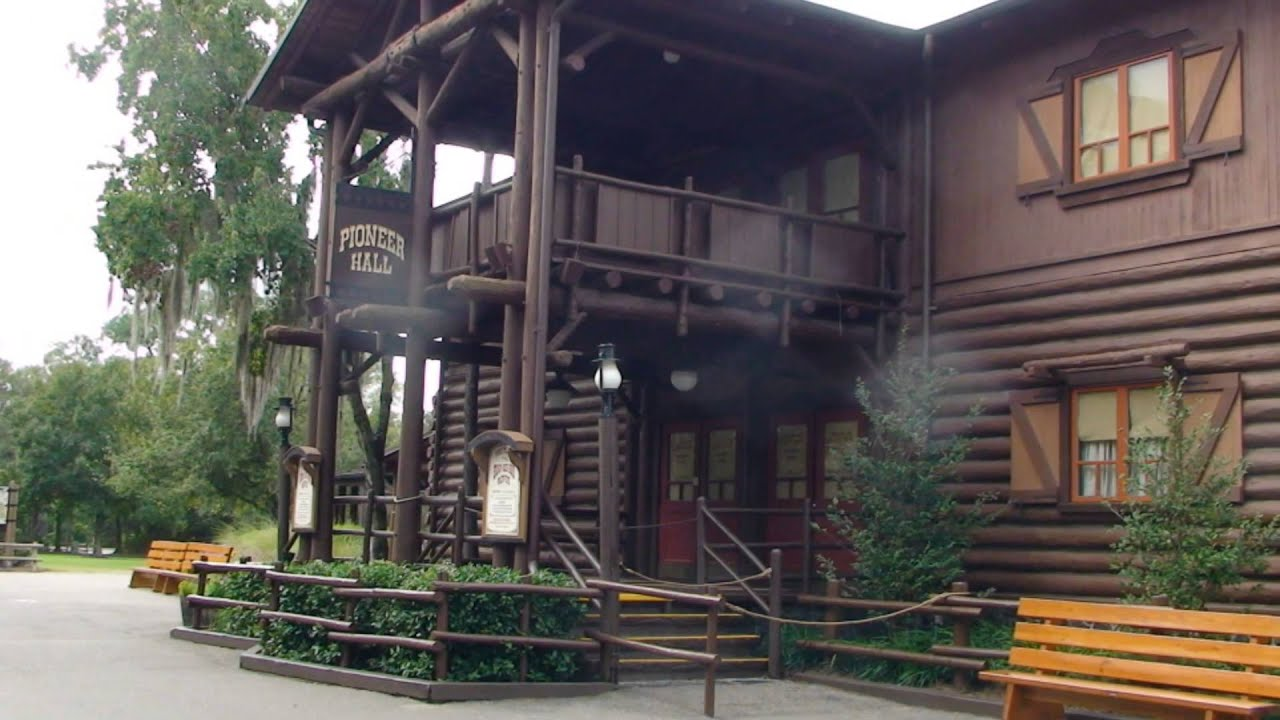 The Cabins At Disney S Fort Wilderness Resort November
