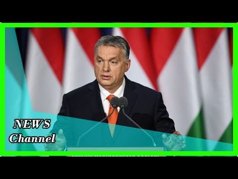 ' Christianity is Europe's last hope ' said that the country of Hungary Prime Minister when he call