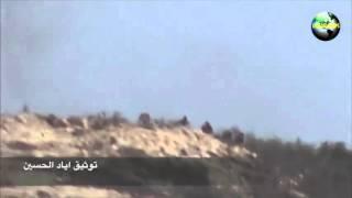 Сирия. Латакия. Армия и ополченцы штурмуют позиции боевиков на горе