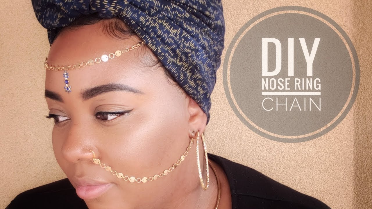 Diy Nose Ring Chain