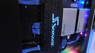 Awesome RGB Cable Management Raceway & New SFX PSU From Seasonic | Computex 2018