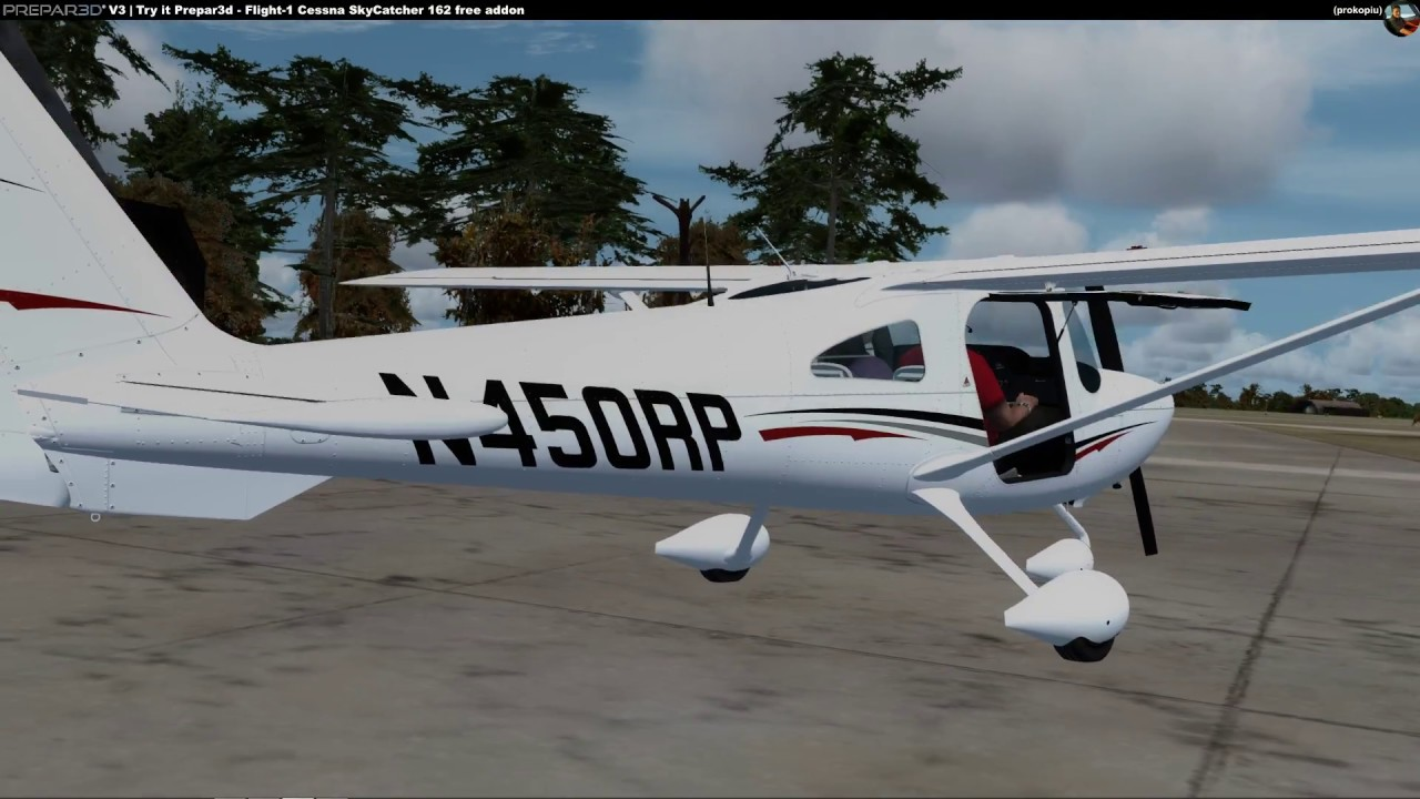 Try it Prepar3d [3 4] - Cessna 162 SkyCatcher for free [English]