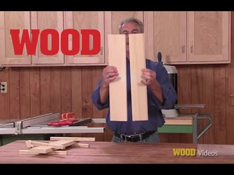 How To Glue Your Boards Up Perfectly - WOOD magazine