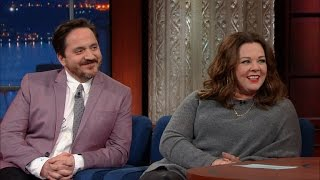 melissa mccarthy and ben falcones first comedy sketch went great
