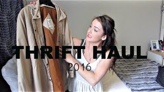 Spring Thrift Haul 2016!