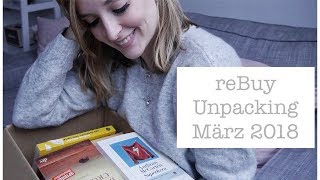reBuy Unpacking März 2018 | saved moments