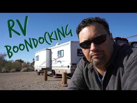 What's RV boondocking & what do you need to know?