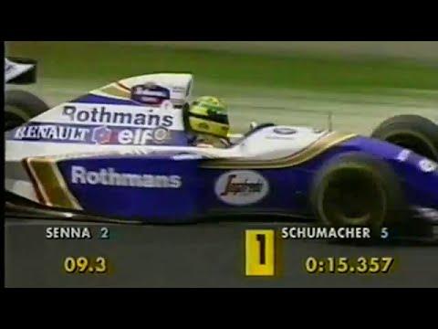 Ayrton Senna 64th Pole Position, Japan 1994