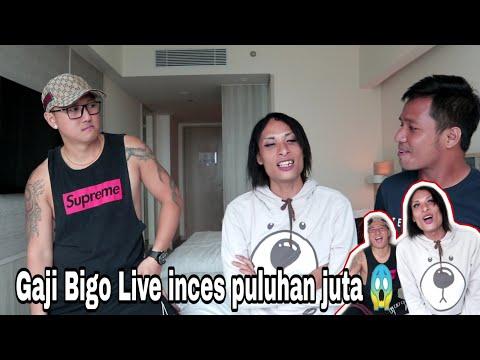 Kaget !! Gitu doank dapat 45 juta di Bigo Live ?    Artis Bigo Inces