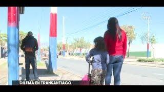 Padres de niños entre cinco a 11 años complicados por torniquetes del Transantiago - CHV NOTICIAS