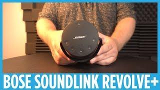 Bose Soundlink Revolve+ Hands-on