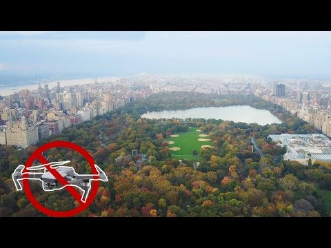CRAZY DRONE FLYING IN NEW YORK