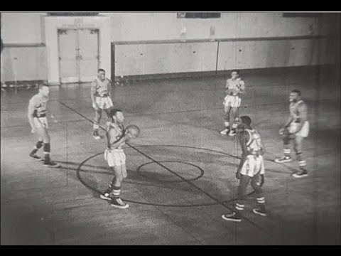 Harlem Globetrotters 1956 Promotional Reel - 8mm film
