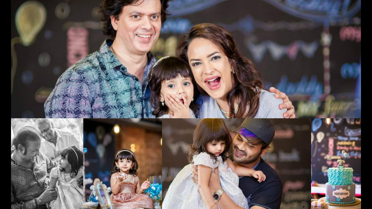 Image result for lakshmi manchu daughter 2nd birthday photos