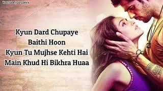 Awari Lyrics From Ek Villain New Hindi Sad Full Song Lb Lyrics