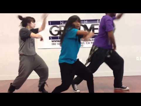 In The Groove Studios Hip Hop Dance Class David King