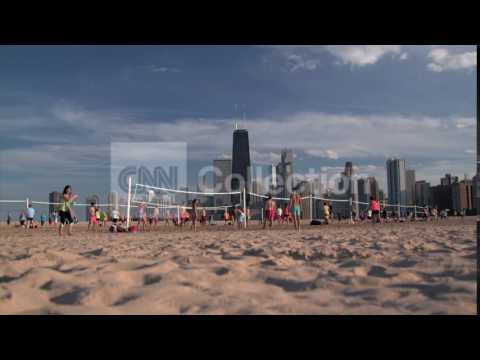 CL/S1/EP1/CHICAGO BEACH VOLLEYBALL WIDE