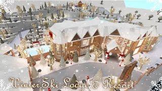 Bloxburg   Hotel   Winter Ski Lodge & Resort   Speed Build   All Game Pass  